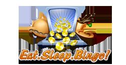 Eat Sleep Bingo logo